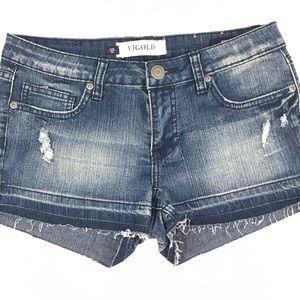 💟 BOGO Free! | Vigold Distressed Jean Shorts